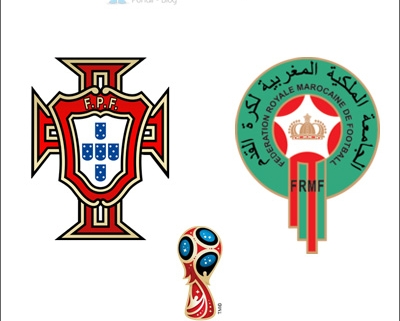 Portugal - Maroc, FIFA WORLD CUP 2018