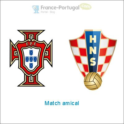 Portugal - Croatie en amical
