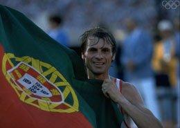 Carlos Lopes - 1ère médaille d'or olympique du marathon
