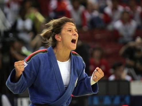 Telma Monteiro, championne d'Europe de judo