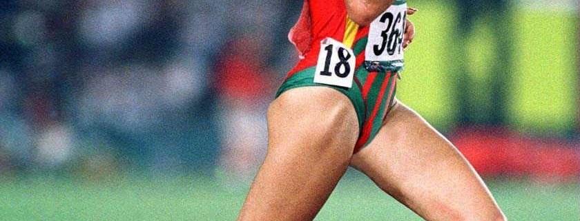 Fernanda Ribeiro, athlète portugaise championne olympique