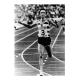 Fernando Mamede battant le record du monde du 10000 m