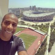 Nelson Evora au Championnat du monde d'athlétisme à Pequim 2015