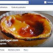 Page Facebook de france-portugal