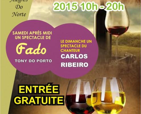 Foire aux vins portugais les 14 et 15 novembre 2015 à Ivry-sur-Seine