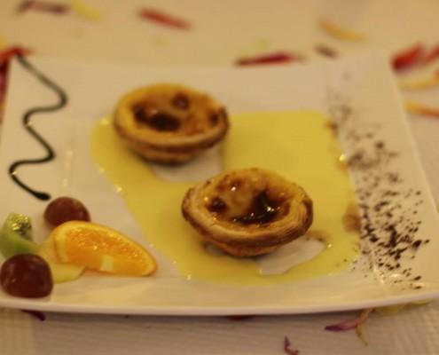 Restaurant portugais LA GRANGE à Montfermeil, pasteis de nata