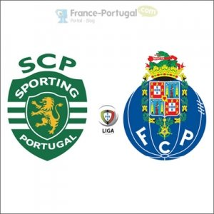 Sporting - FC Porto en Liga portugaise