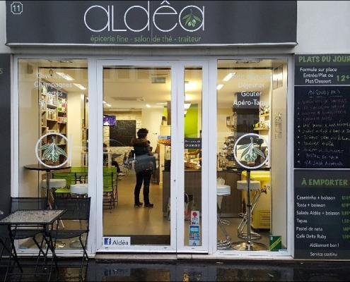 aldêa : épicerie fine, salon de thé, traiteur