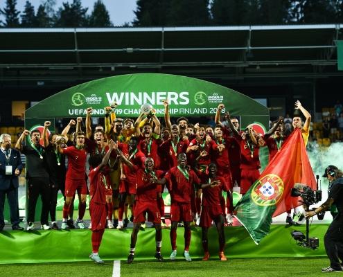 Portugal champion d'Europe 2018 U19