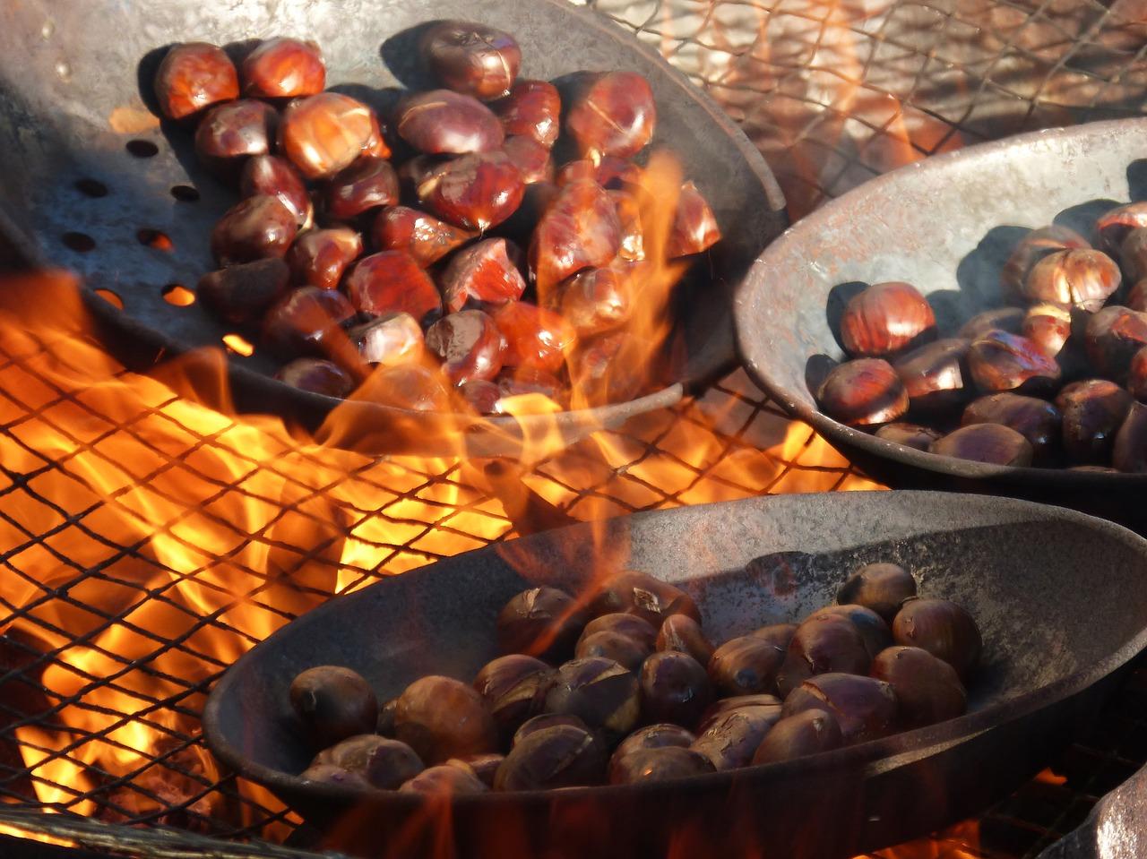 """Châtaignes grillées de la """"SÃO MARTINHO"""""""