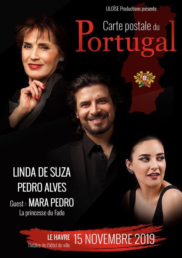 Linda de Suza et Pedro Alves en concert à Le Havre le vendredi 15 novembre 2019