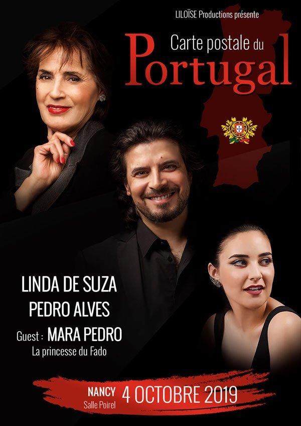 Linda de Suza et Pedro Alves en concert à Nancy le vendredi 4 octobre 2019