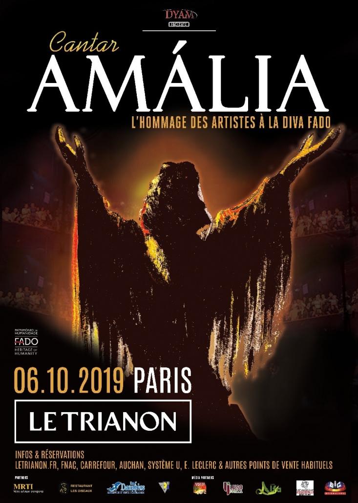 Cantar Amália, concert hommage à la Diva Fado, Paris 2019