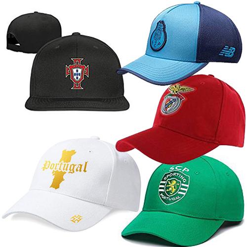 Casquettes Portugal et clubs portugais