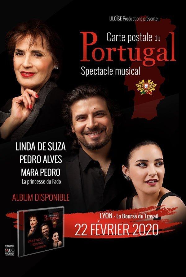 Linda de Suza et Pedro Alves en concert à Lyon