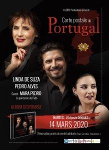 Linda de Suza et Pedro Alves en concert à Orvault