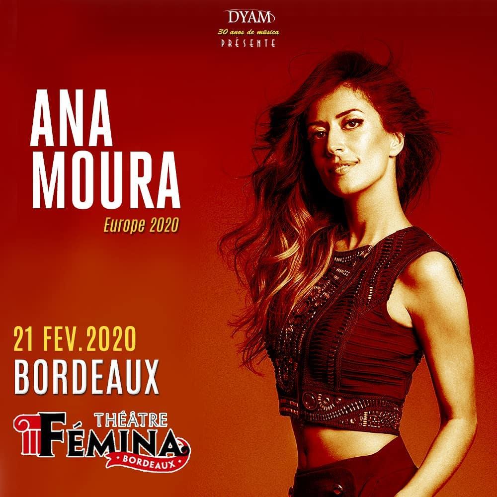 Ana Moura en concert à Bordeaux