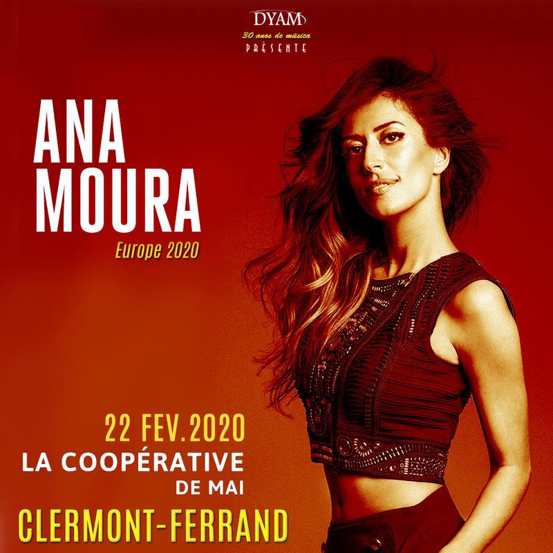 Ana Moura en concert à Clermont-Ferrand
