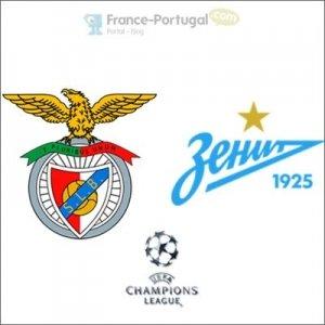 Benfica - Zénith Saint-Pétersbourg