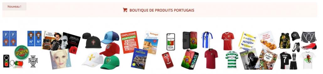 Boutique en ligne de produits portugais