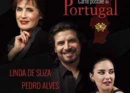 Carte postale du Portugal, Linda De Suza, Pedro Alves et Mara Pedro