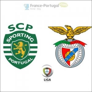 Sporting Club Portugal - Benfica, en liga portugaise