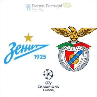 Zénith Saint-Pétersbourg - Benfica