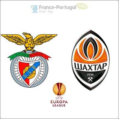 Benfica - Chakhtior Donetsk, 1§ème de finale Europa League