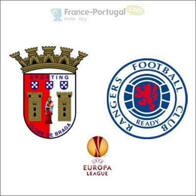 Braga - Glasgow Rangers, Europa League