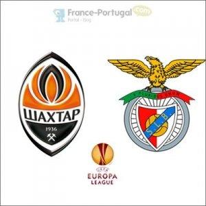 Chakhtior Donetsk - Benfica, 16ème de finale Europa League