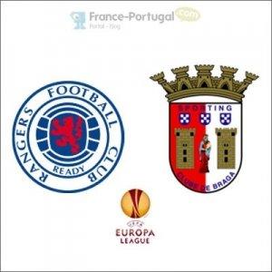 Glasgow Rangers - Braga, Europa League