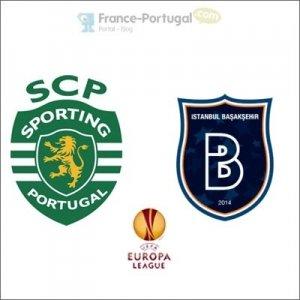Sporting Portugal - Istanbul Basaksehir, Europa League