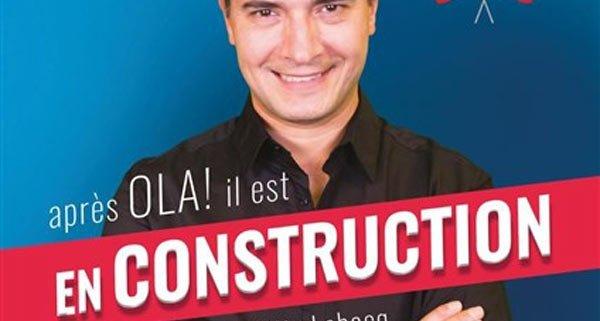 José CRUZ, spectacle EN CONSTRUCTION