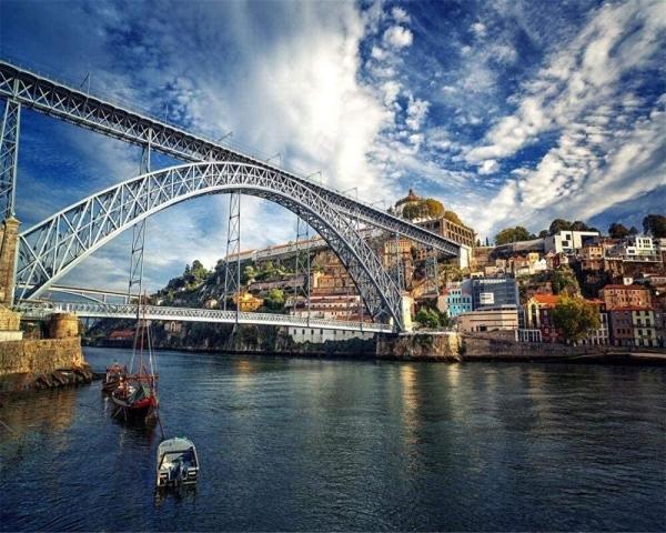 Puzzle 1000 pièces - Pont Dom-Luís à Porto