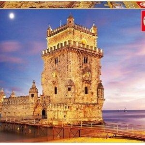 Puzzle 1000 pièces - Tour de Belem à Lisbonne