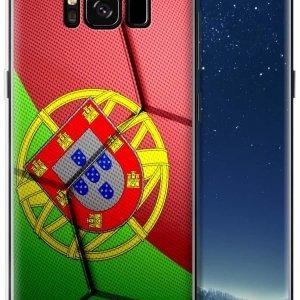 Coque Portugal pour Samsung Galaxy A3, S4, A5, Note 8, S8, S8 Plus, Note 9, S9, S9 Plus, A90, Core Prime