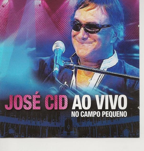 José Cid - Ao Vivo No Campo Pequeno