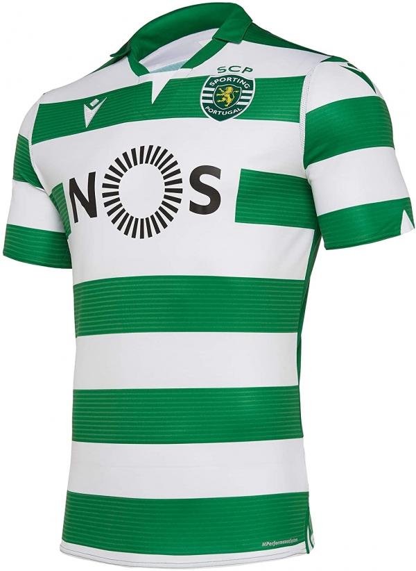 Maillot Sporting Club Portugal domicile 2019-2020