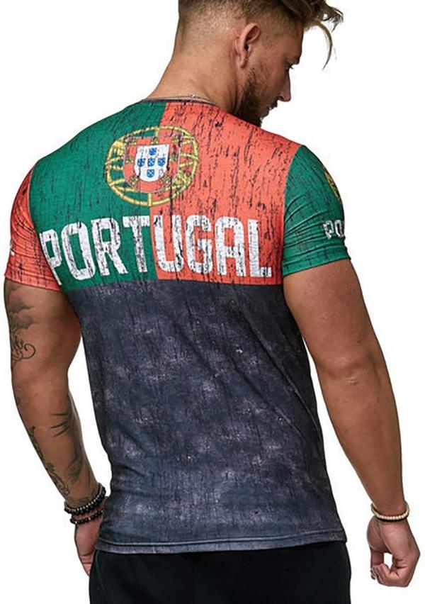 T-shirt Portugal Coupe du Monde