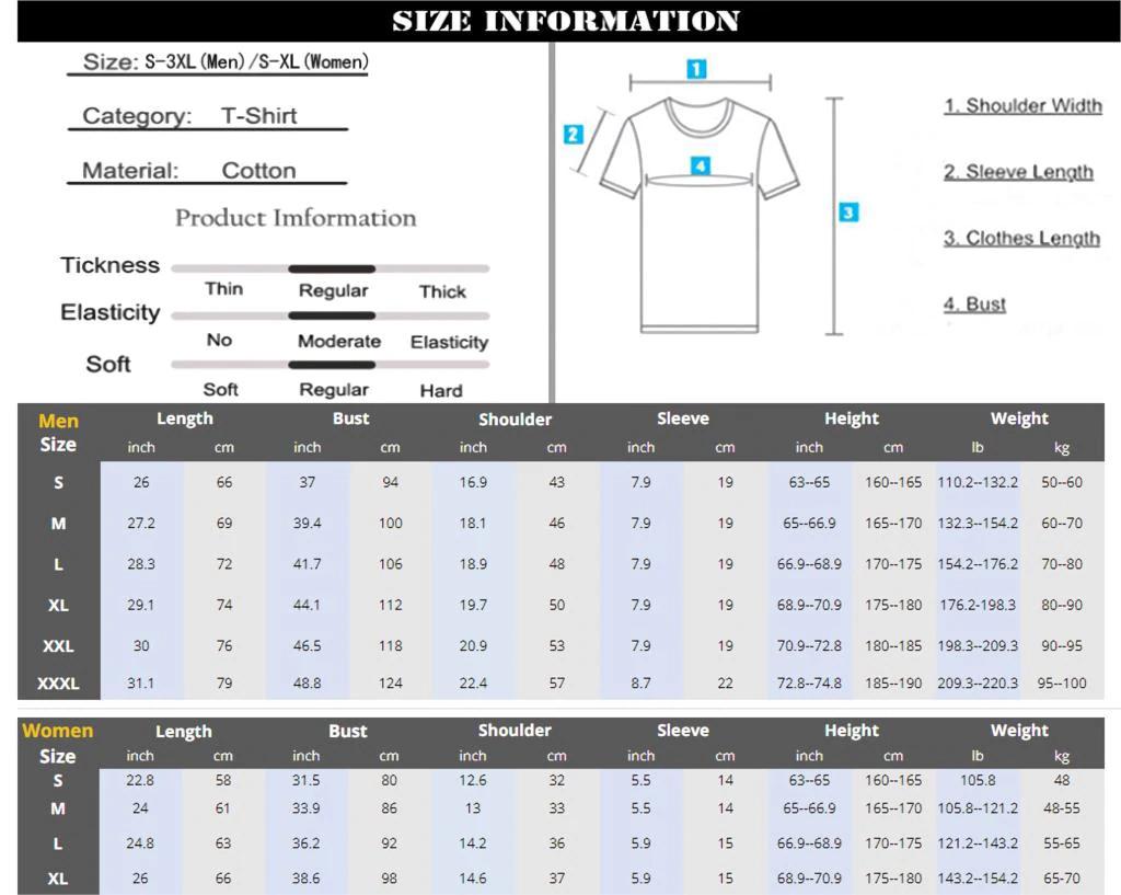 T-shirt SUPER BOCK - Guide des tailles