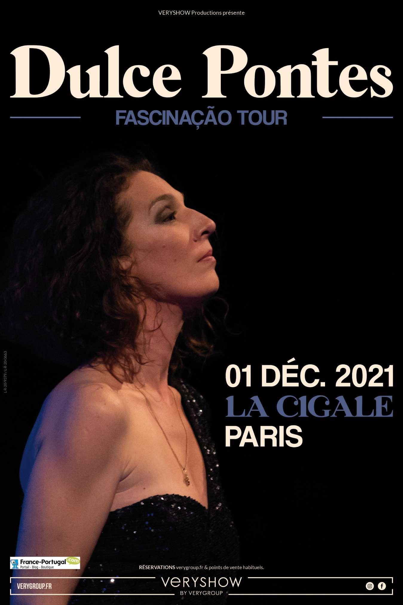 Concert de Dulce Pontes à La Cigale