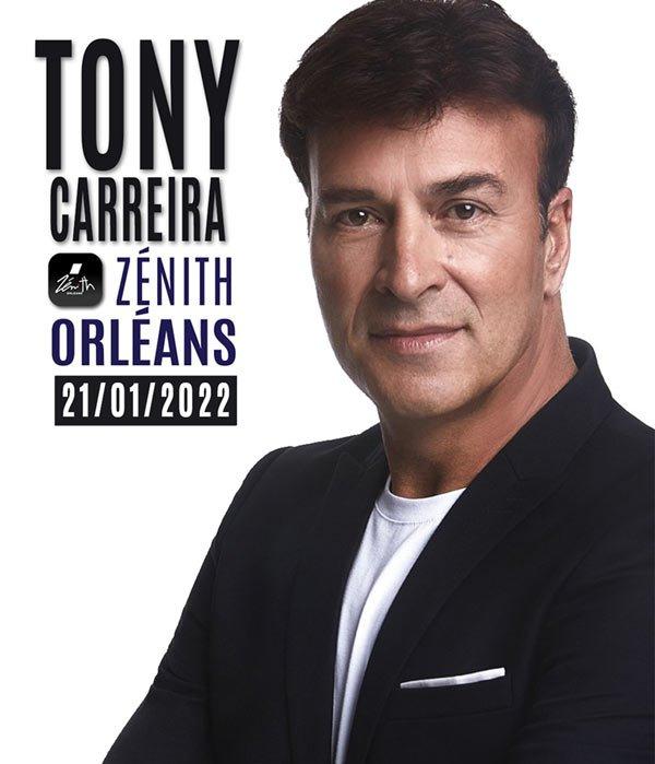 Tony CARREIRA au Zénith d'Orléans